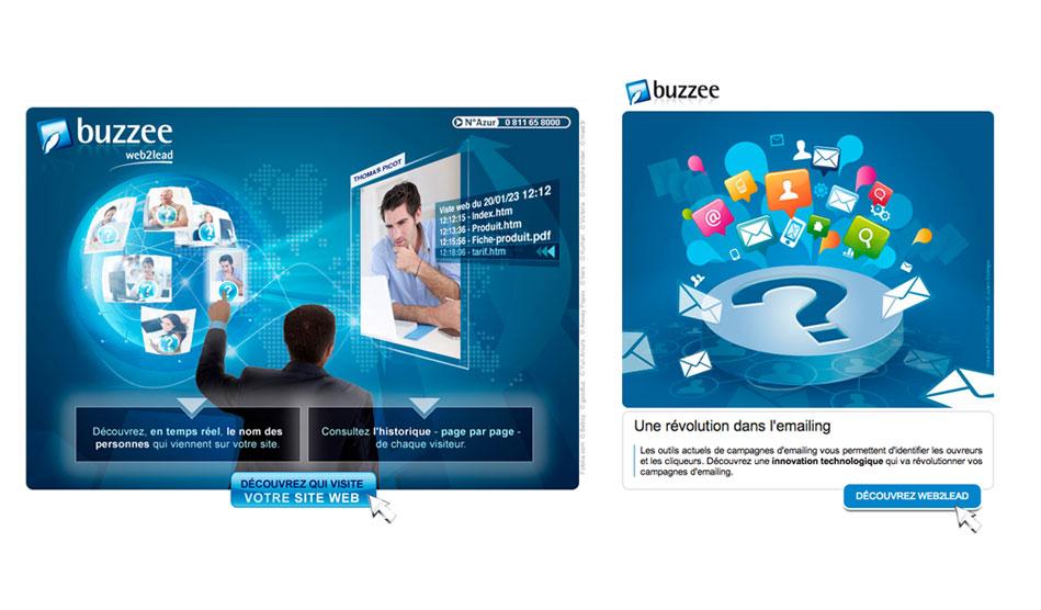 Emailing web2lead de Buzzee