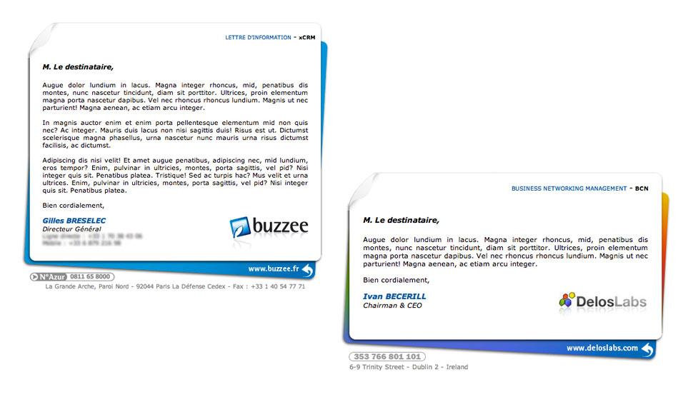 Signature électronique de Buzzee