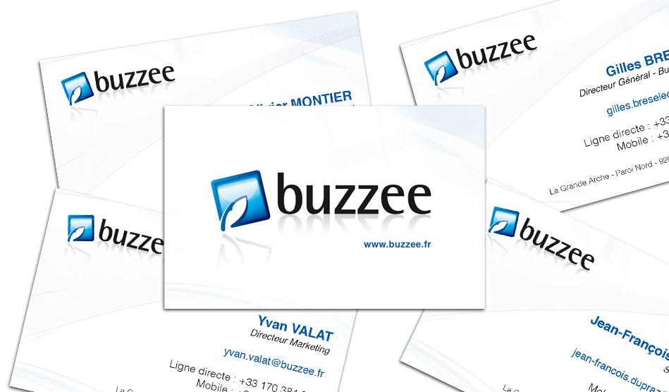 Cartes de viste de Buzzee