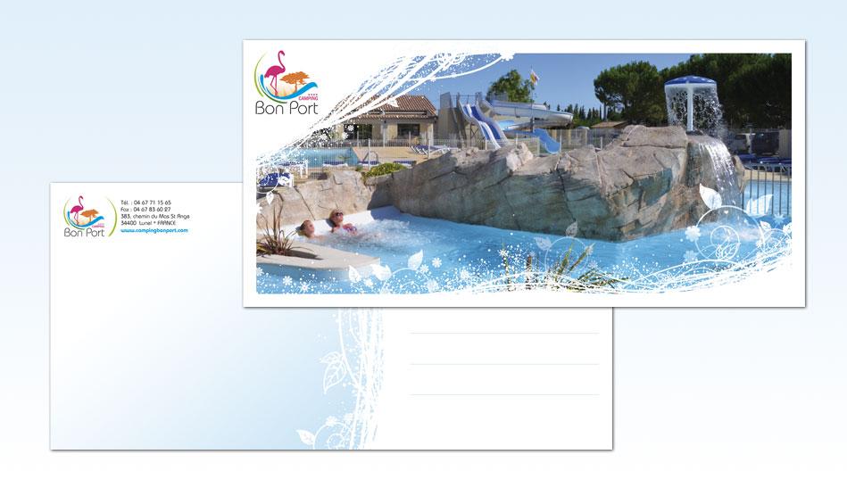 Cartes postales du Camping Bon Port