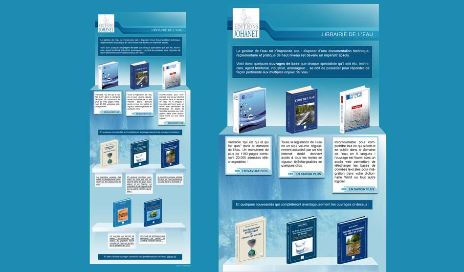 Lettre d'information pour les Editions Johanet