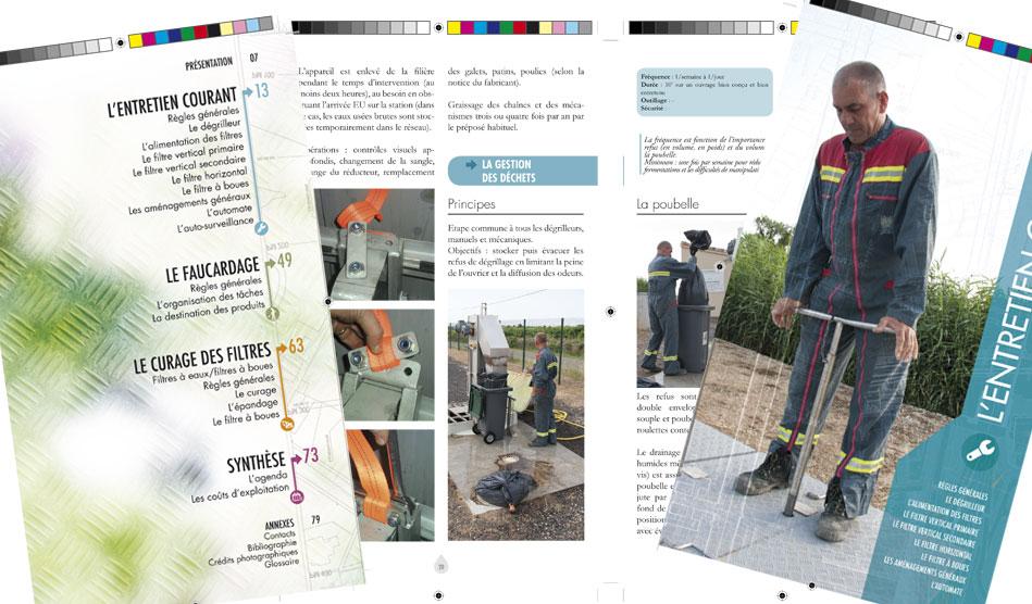 Guide d'exploitation : le filtre planté de roseaux - Editions Johanet