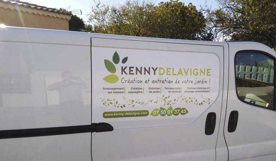 Plaques latérales arrières de Kenny Delavigne