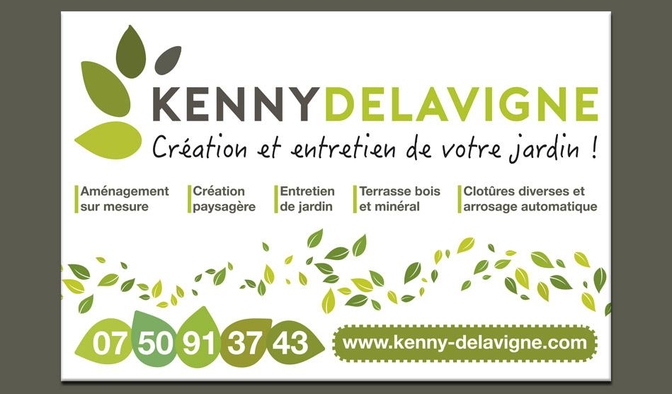 Panneau de Kenny Delavigne