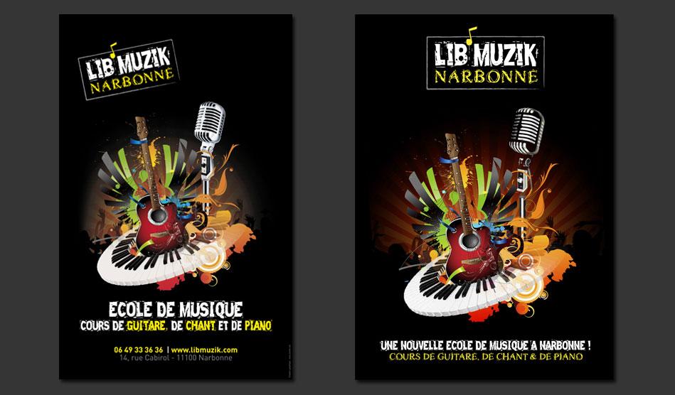 Affiches de Lib'Muzik