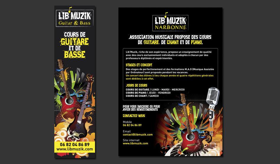 Panneaux de Lib'Muzik