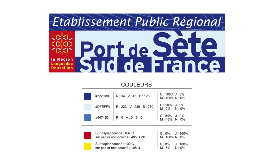 Charte graphique EPR