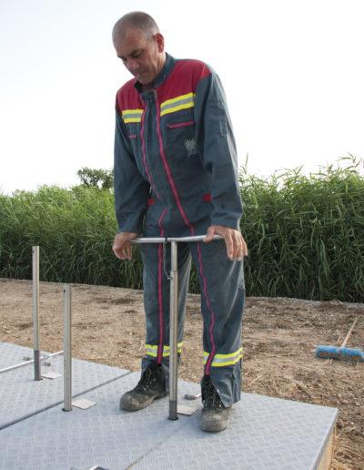 Photos pour illustrer le Guide d'exploitation : le filtre planté de roseaux